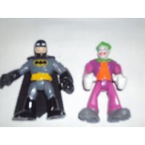 Batman Y Guason Tipo Super Hero Squad Joker
