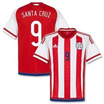 Jersey Adidas Paraguay Copa America Original Con Num