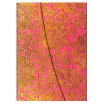 Libreta Ultra Golden Fuchsia Rayas Paperblanks