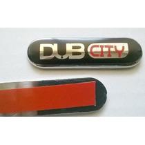 Emblema Lateral Dub City Par Plastico