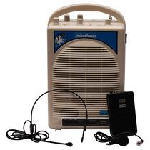 Kit Portatil Perifoneo 200w Efecto Eco 2 Micros Usb Sd Xaris