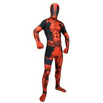 Deadpool Morphsuit - Adultos Xxlarge Marvel Fantasía Comic