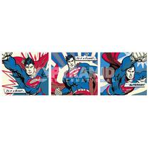 Superman Cartel - De Dibujos Animados Comic Arte Pop Trípti