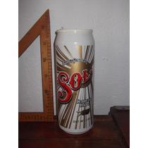 Cerveza Sol,lata Grande Promocional De Plástico