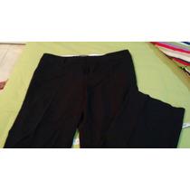 Pantalón Negro De Vestir 26 De Largo Desde El Tiro. Fotos