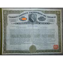 Bono - Ferrocarriles Nacionales De México, $1,000 Oro, 1909