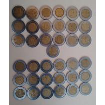 Colección Monedas De Cinco Pesos