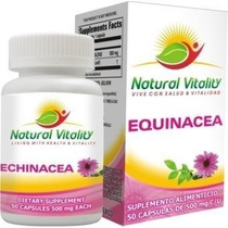 Equinacea En Cápsulas De Natural Vitality