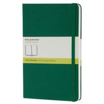 Libreta Grande Verde Pasta Dura Blanco Moleskine Cuaderno