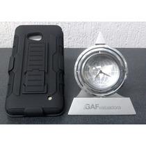 Nokia Lumia 640 Protector Robot Case Y Mica Glass De Cristal