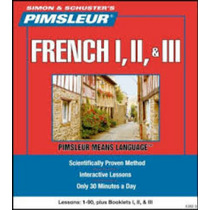 Aprende Frances Método Pimsleur 3 Niveles 90 Sesiones Audio
