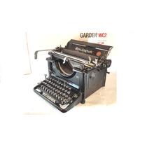 Maquina De Escribir Antigua Remington 16, 100% Funcional !