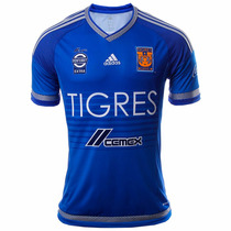 Playera Jersey De Visitante Tigres Uanl 15/16 Adidas S29562