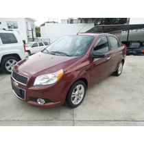 Chevrolet Aveo Paquete F Tm 2013 Color Cereza