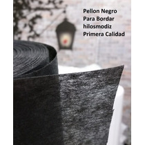 Pellon Negro Para Bordar 100 Yds Bordadora
