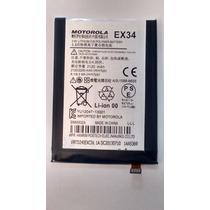 Bateria Ex34 Para Moto X La Mejor Calidad