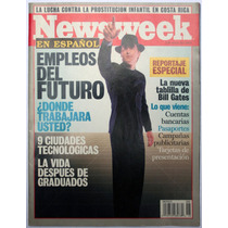 Revista Newsweek Mayo 2 Empleos Del Futuro Bill Gates 2001