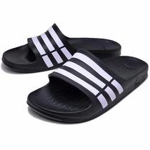 Sandalias Adidas Duramo Slide Negras - Envio Grátis!