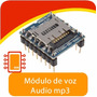 Módulo Reproductor De Audio Mp3 Wtv020-sd, Arduino, Pic,avr