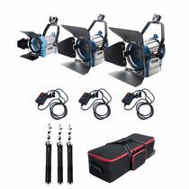 Kit De Lamparas De Tunsteno 150-300-650 Watt + Accesorios
