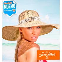 Mayoreo Sombrero Playa P/ Dama Accesorio Moda Envío Gratis