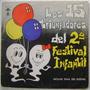 Los 15 Triunfadores Del 2 Festival Infantil1 Disco Lp Vinilo
