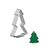 Set 3 Cortador Galletas Navidad (árbol, Casita Y Angel)