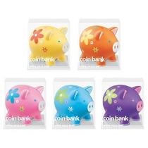 Alcancia Piggy Coin Bank 4m2u Puerquito Cochinito Caja 12 Pz