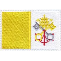 Vaticano Iglesia Europa Parches Bordados Banderas Paises