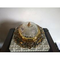 Lampara Para Plafon Metalica ( 2 Focos ) Mod. Adonis