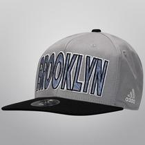 Gorra Brooklyn Nets Ajustable Snapback Nba Basquetbol Adidas