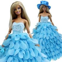 Noche Princesa Boda Fiesta Ropa Usa Vestido Traje Conjunto