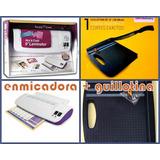 Enmicadora Frio Y Caliente Mas Guillotina De 12 Plg.