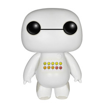 Funko Pop Baymax Emoticon Exclusivo Sdcc Brillantina