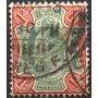 3101 India Rey Eduardo 7� Scott#70  1p Usado N H 1902-09