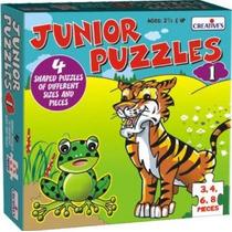 Primeros Años Puzzle - Rompecabezas Creativo Junior 1 Apren