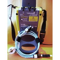 Escaneo A Fibra Óptica, Fluke Networks Dtx-1800 Calibrado