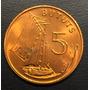 Gam002 Moneda Gambia 5 Bututs 1971 Unc-bu Ayff
