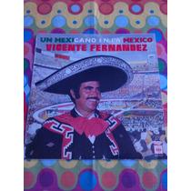 Vicente Fernandez Lp Un Mexicano En La México 1969