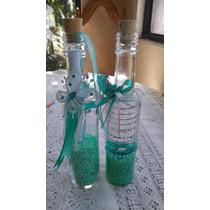 Invitacion En Botella De Vidrio