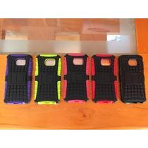 Case Ultra Defender Samsung Galaxy S6 + Mica Y Paño Gratis