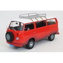 Vw Combi T2 1973 Field Of Dream Greenlight Escala 1:18