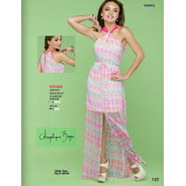 Vestido Largo-corto Ala Moda Elegante-casual Fiesta Coctel