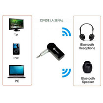 Transmisor Bluetooth Divide Y Comparte Señal Splitter Regalo