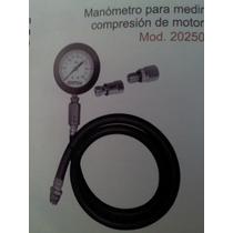 Manometro Profesional Para Medir La Compresion Del Motor