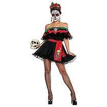 Disfraz Catrina Mujer Calavera Halloween Dia De Muertos