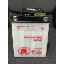 Bateria Acumulador Mf 12n14-3a Mantenimiento Para Moto
