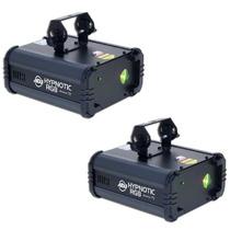 American Dj Hypnotic Rgb Luz Laser ( 2 Piezas )