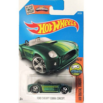 Hotwheels Ford Shelby Cobra Concept #24 2016