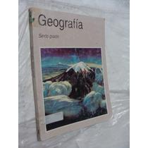 Libro Geografia Sexto Grado , Año 1995 , 175 Paginas , Con